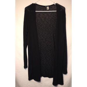 NWOT Black H&M Light Cardigan